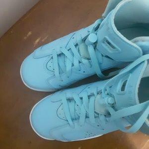 Jordan Shoes   Baby Blue Jordan 6s